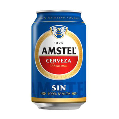 Amstel sin 33cl | Pizzas a domicilio
